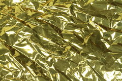 Gold Foil Stock Image