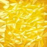 Gold foil. Raster version of vector bright gold foil texture Stock Photography