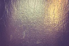 Gold foil background Stock Photography