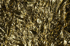 Gold foil Royalty Free Stock Photo