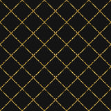 Gold foil glitter line stripes seamless pattern. Gold foil glitter line stripes dark seamless pattern. Vector shimmer abstract grey texture. Sparkle shiny cells Stock Image