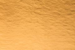 Gold foil metal texture background for decoration stock photography