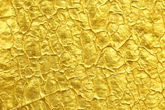 Gold foil texture background. Gold foil texture for background Stock Photography