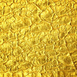 Gold foil texture background. Gold foil texture for background Stock Photo