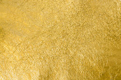 Gold foil texture background Royalty Free Stock Image