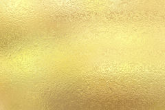 Gold foil texture background. Gold foil paper decorative texture background for artworks Royalty Free Stock Photo