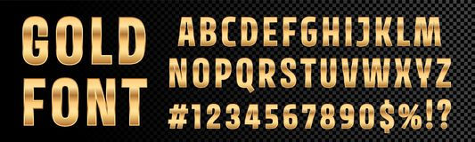 3d Effect Alphabet And Numbers Stock Vector
