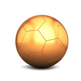 Gold football Stock Photos