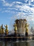 Gold fountain Royalty Free Stock Photo