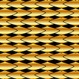 Gold fractal background Stock Photography