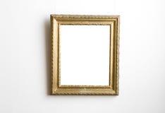 Gold fram Stock Image