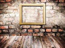 Gold frame Stock Images