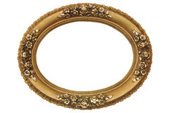 Gold Frame. Very good, old gold frame Stock Images