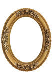 Gold Frame. Very good, old gold frame Royalty Free Stock Photography