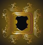 Gold frame 20 Royalty Free Stock Photo