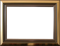 Gold frame Stock Images