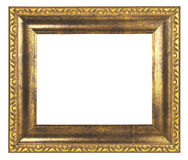 Gold Frame Stock Image
