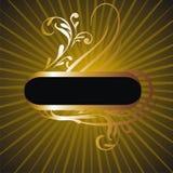 Gold frame 31 Stock Images