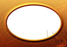 Gold frame Royalty Free Stock Photo