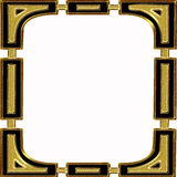 Gold frame Stock Photos