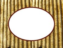 Gold frame background Royalty Free Stock Images