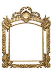 Gold Frame (included path) Stock Images