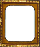 Gold Frame - Rectangle Shaped Royalty Free Stock Photography