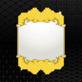 Gold frame seamless texture Royalty Free Stock Image