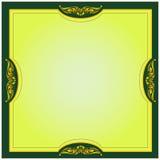 Gold frame.Vector Stock Photos