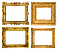 Gold frames Royalty Free Stock Photo