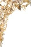 Gold framework Royalty Free Stock Photo