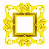 Gold framework Royalty Free Stock Images