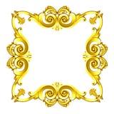 Gold framework Stock Photos