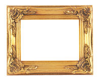 Gold framework Royalty Free Stock Photo
