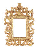 Gold framework Royalty Free Stock Images