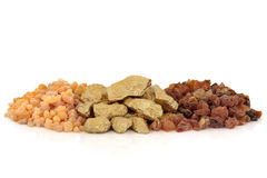 Gold Frankincense and Myrrh Royalty Free Stock Image