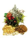 Gold frankincense and myrrh Stock Photos
