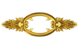 Gold fretwork Royalty Free Stock Photo