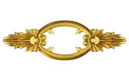 Gold fretwork Royalty Free Stock Photo