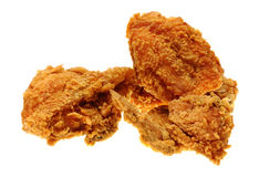 Gold fried chicken Stock Photography