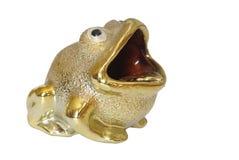 Gold frog Stock Photos