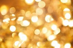 Gold funkelte Hintergrund - Weihnachten stockbilder