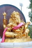 The Gold Ganesha Stock Photography