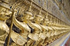 Gold Garuda Stock Images