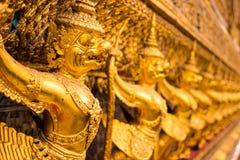 Gold garuda from wat phra kaew Stock Photography