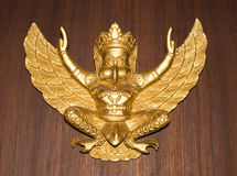Gold garuda Royalty Free Stock Images