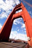 Gold Gate Bridge Royalty Free Stock Photo