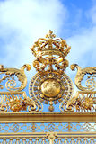 Gold gate - Palace of Versailles Stock Images