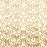Gold Gatsby Art Deco Pattern Background Design stock abbildung