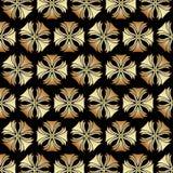 Gold Gatsby Art Deco Pattern Background Design. Vector royalty free illustration